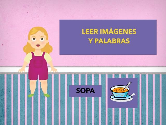 Lectura De Imágenes Y Palabras: Comida by Francisca Sánchez Martínez