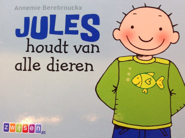 Boekje Jules houdt van alle dieren  by Wilma DeVente