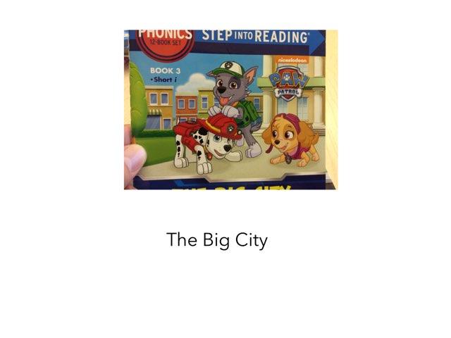 The Big City by Joy Wilson