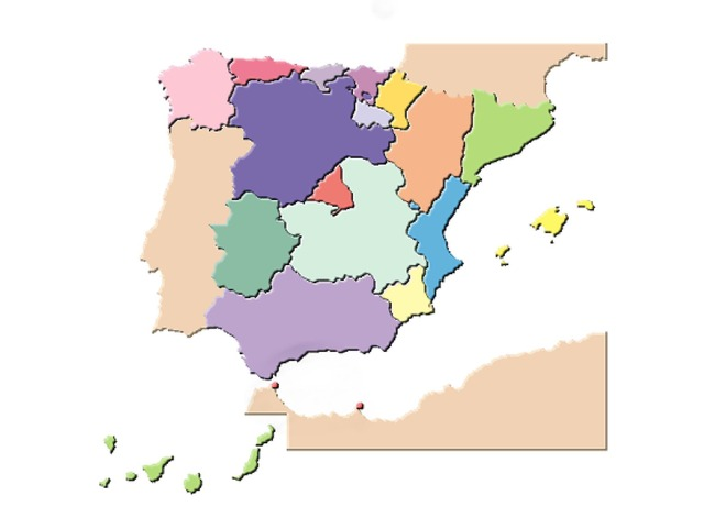 Comunidades de España. by raquel castellano