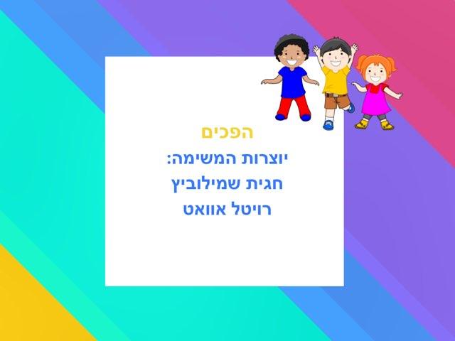 הפכים by חגית שמילוביץ