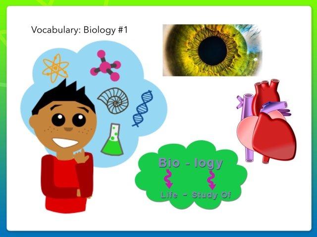 Vocabulary: Biology #1 by Carol Smith
