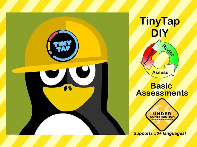 TinyTap DIY - Assessments by Ellen Weber