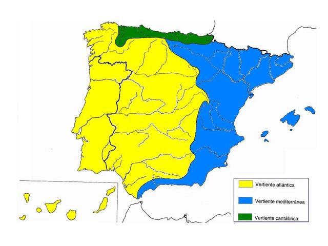 Vertientes Y Rios De España  by Pablo Hernandez Cejudo
