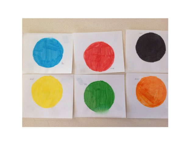 6 Couleurs - Anglais by Anthony Gaste