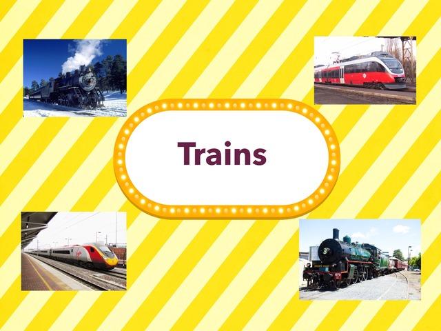 trains by Mokytoja Ilona