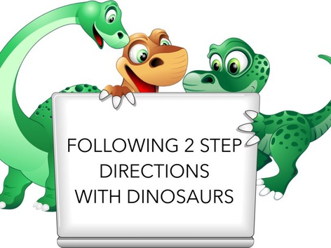 Following 2 Step Directions by Teresa Grimes