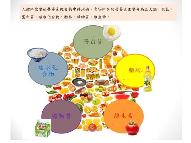 高小四自學工作紙--食物營養素 by Hoiman ng