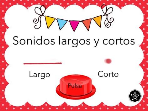 Sonidos Largos Y Cortos by Carmen Martínez
