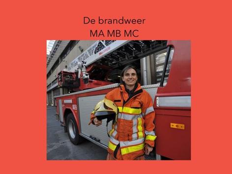 De Brandweer by Wieke Jasper