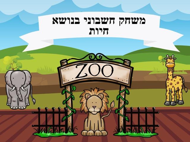 משחק חשבוני בנושא חיות by עינבל אליהו