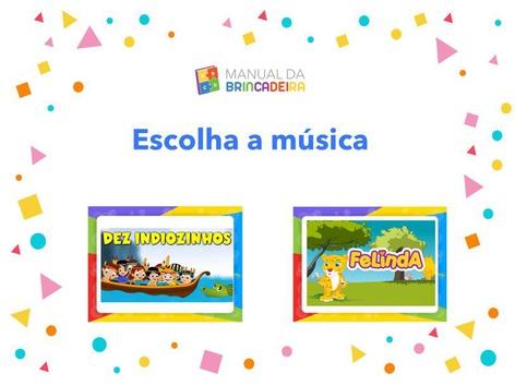 Escolha a Música - Manual da Brincadeira  by Manual Da Brincadeira Miryam Pelosi