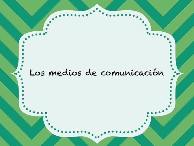 Medios de comunicación by Toñi Arteaga Lucas