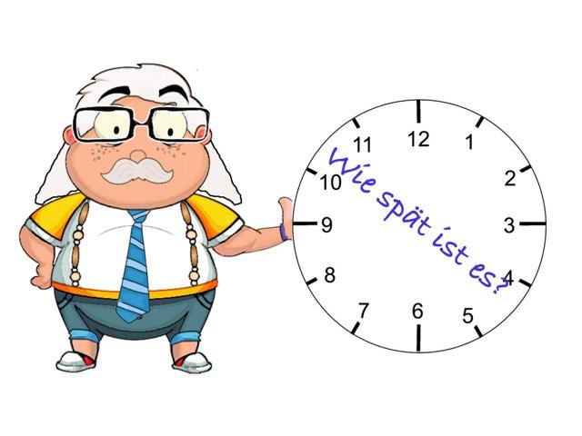 Zeit oder wie spät ist es?  by Nadja Blust