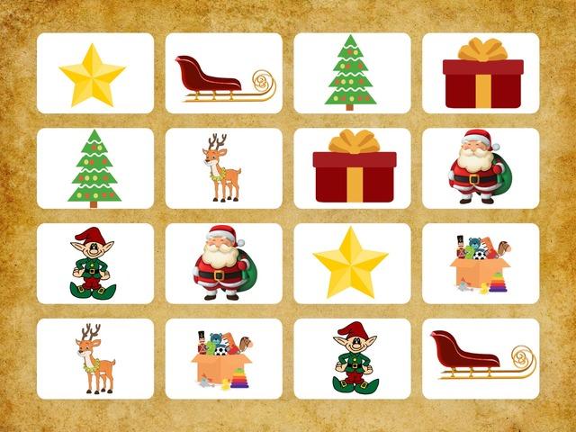 CHRISTMAS MEMORY GAME by Priscila Louzada