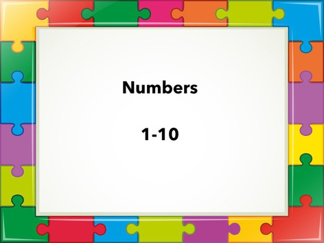 Numbers 1-10 by Bibiana Ortiz Deive