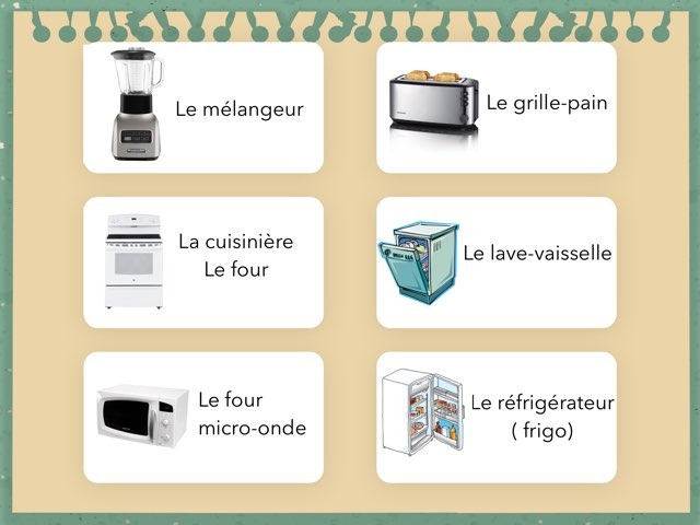 Vocabulaire De La Cuisine 1 by Eve-Marie D'Aragon