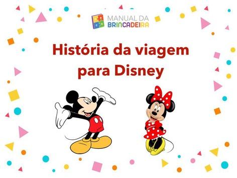 Viagem Para Disney by Manual Da Brincadeira Miryam Pelosi