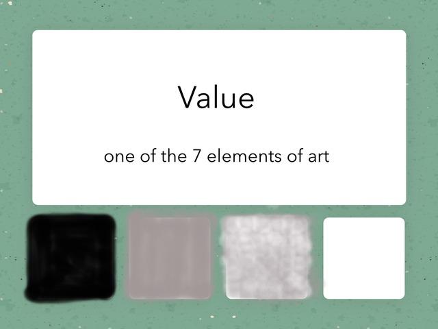 Value by Ms. Keller