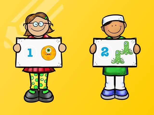 Asociar Uno Y Dos Elementos Con Cifras 1 Y 2 by Francisca Sánchez Martínez