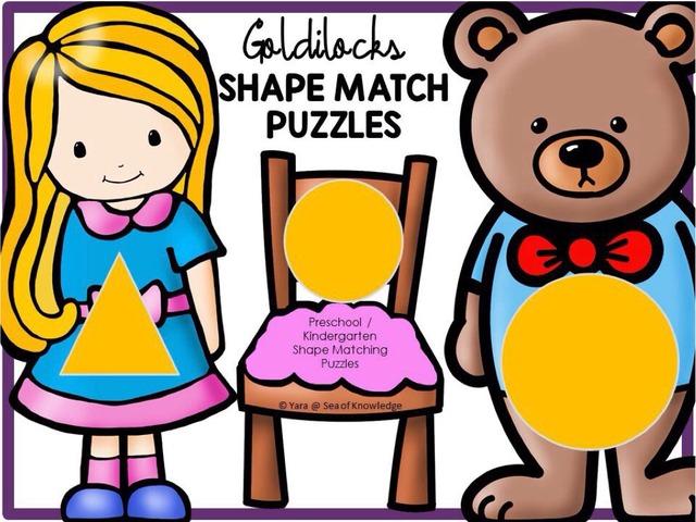Shape Match - Goldilocks  by Yara Habanbou