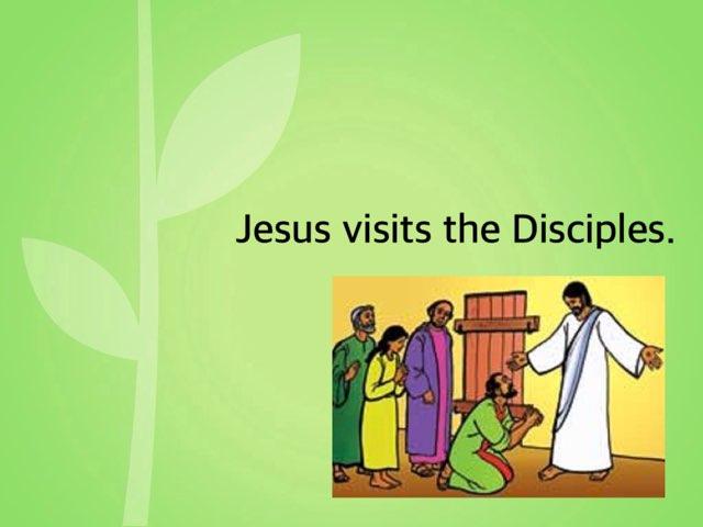 Jesus Visits The Disciples by Deborah Fletcher