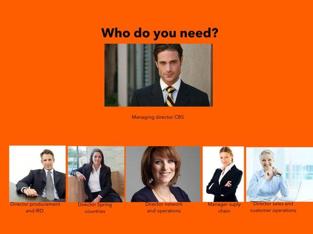 Who Do You Need? by Rienke van Rooijen