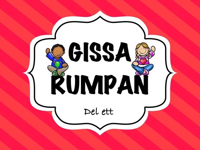 Gissa Rumpan 1 by Caroline Hermansson