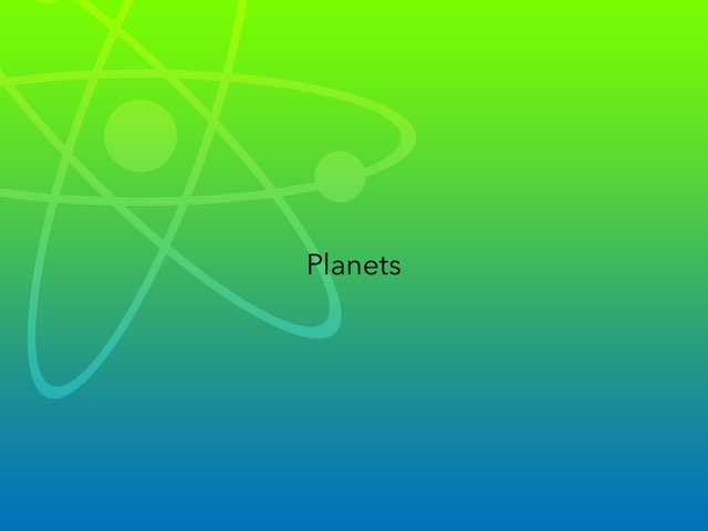 Planets by Frances Chapin