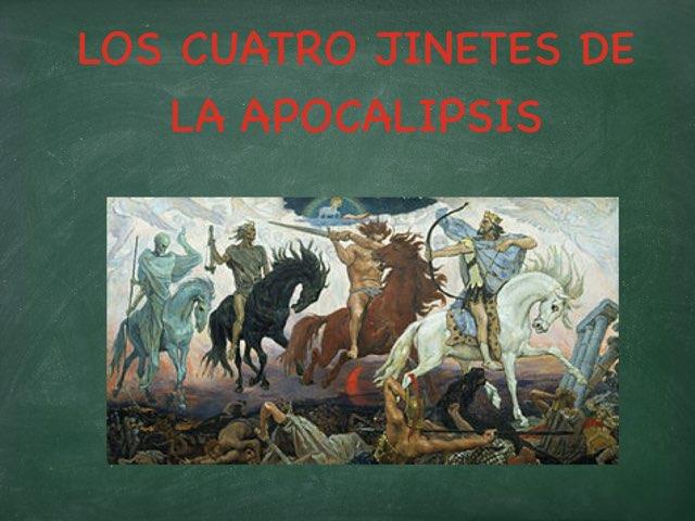 LOS CUATRO JINETES DE LA APOCALIPSIS by Arnau Font