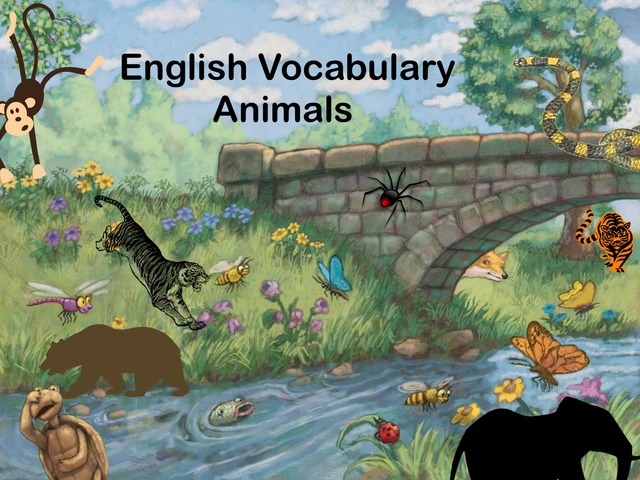 Vocabulary Animals by Jose Sanchez Ureña