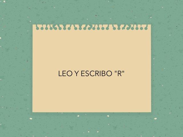 LEO Y ESCRIBO R by LAURA PARDO