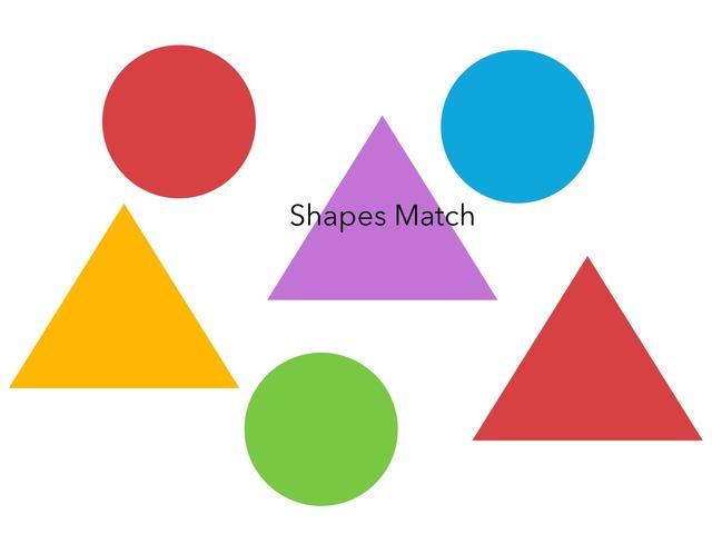 Shapes Match by Jennifer Cunningham