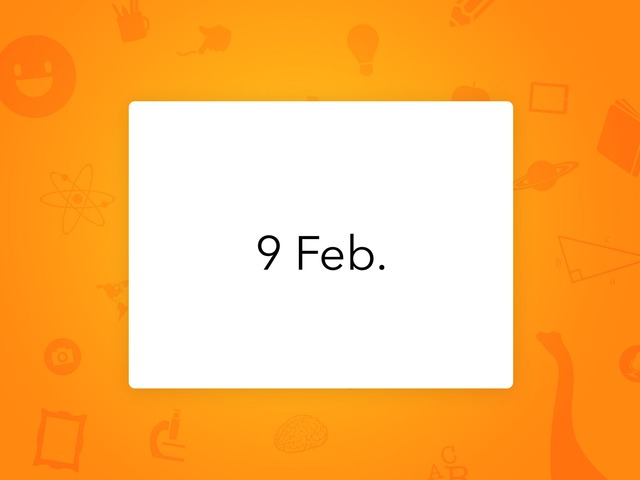 9 Feb by Resource Room