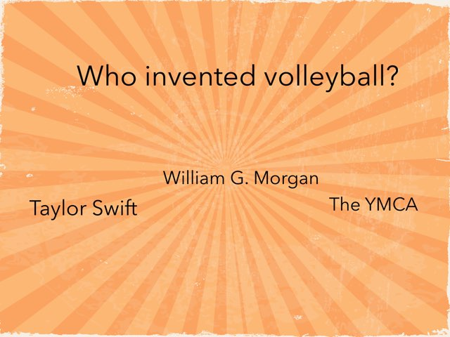 Volleyball Questions by Courtney Durbin