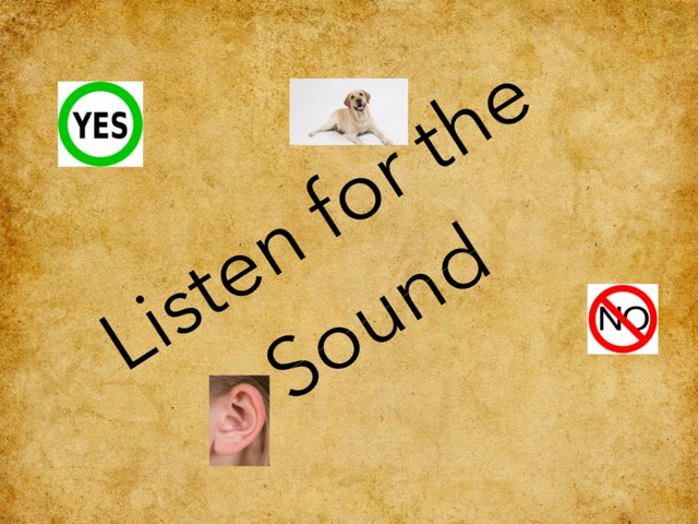 Listen For The Sound by Julie Gittoes-Henry