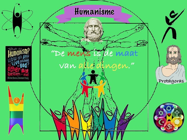 Levensbeschouwing, Humanisme by Caspar Middeldorp