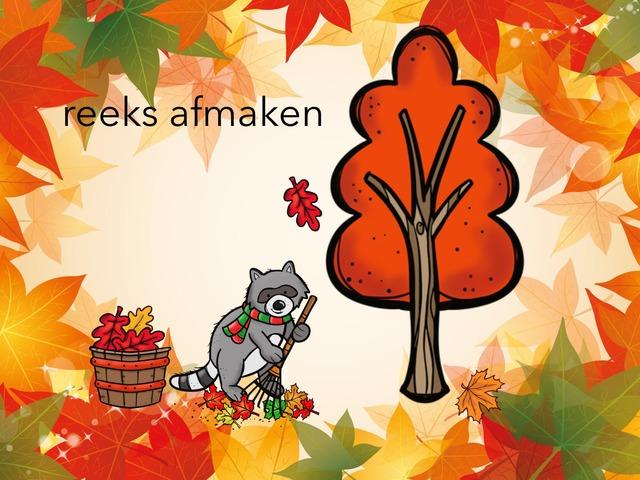 Reeks afmaken van herfstbladeren by Florine Ham