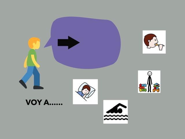 Voy A... by Francisca Sánchez Martínez