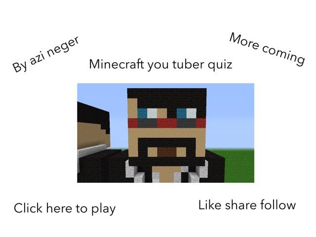 Fun Youtuber Quiz by Azi Nege