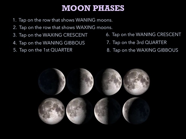 Moon Phase Practice by Rebecca Parrott