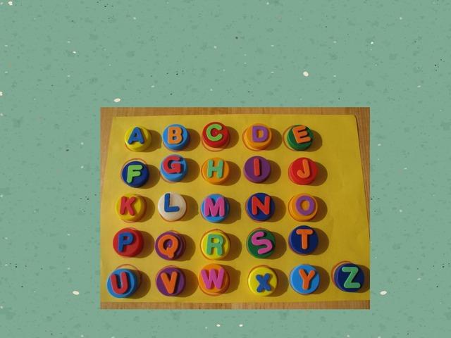 Alphabet Game by Daisy Vivar