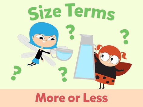 Size Terms: More Or Less by Miss Humblebee