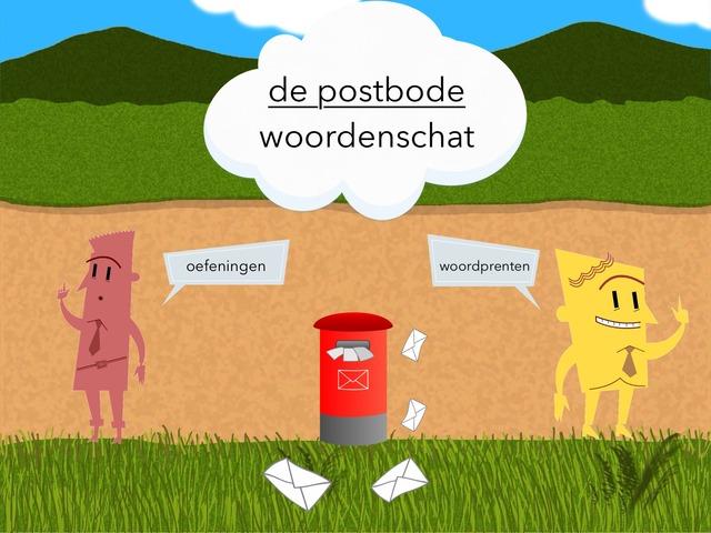 De Postbode Woordenschat by Frieke Vanderzijpen