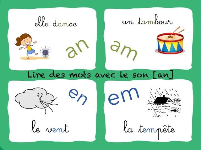 an en am em by Marie S