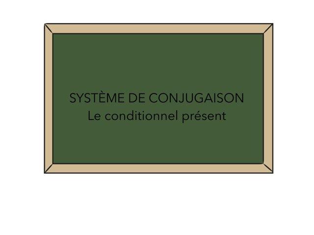 Conditionnel présent by Julie Démon
