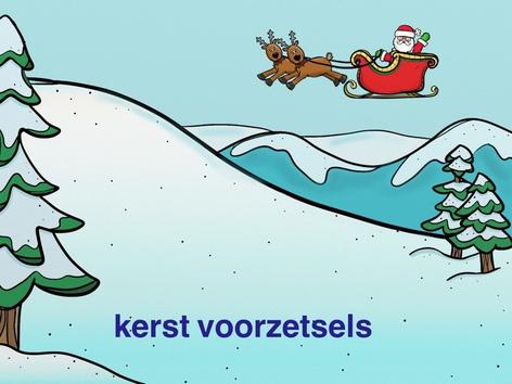 Kerst voorzetsels by Janine