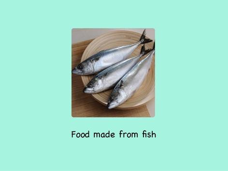 Food Made From Fish  by Ng HuiQi