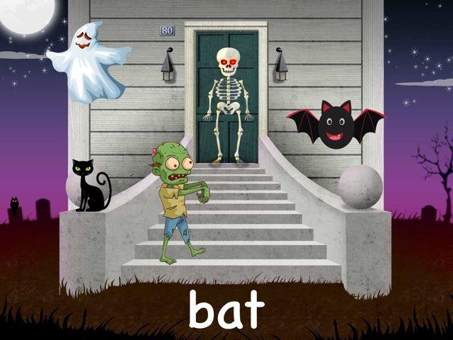 Kinder3 Halloween Vocabulary by Beverly Ramirez-Roque