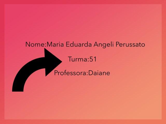 Maria Eduarda Perussato  by Rede Caminho do Saber